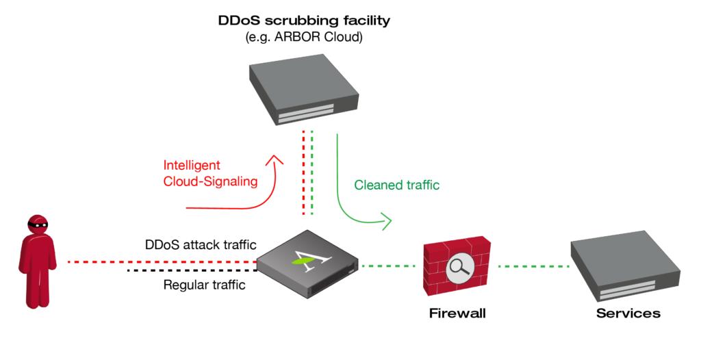 DDos scrubbing facility | Xantaro